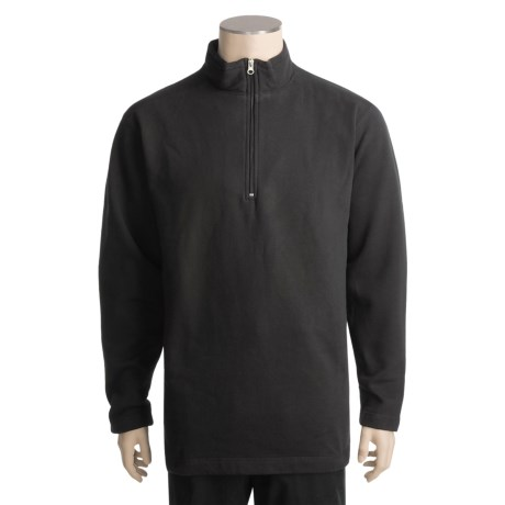 Woolrich Windom Sweatshirt - Zip Neck (For Men)