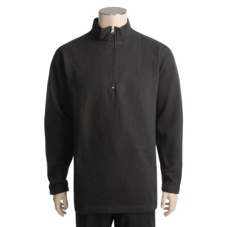 Woolrich Windom Sweatshirt - Zip Neck (For Men)