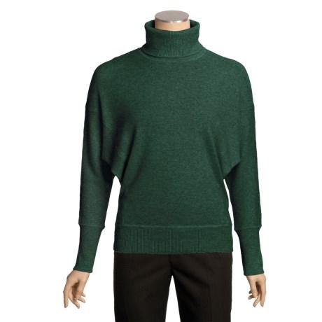 Kinross Oversized Dolman Turtleneck Sweater - Cashmere (For Women)