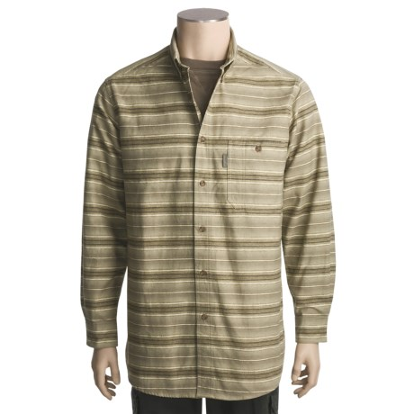 Woolrich Printed Chamois Shirt - Long Sleeve (For Men)