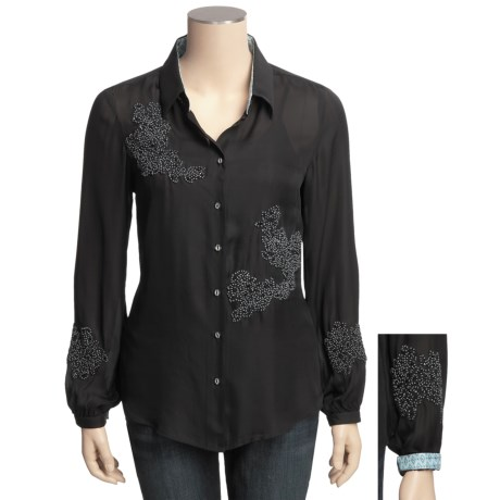 Robert Graham Sierra Silk Shirt - Long Sleeve (For Women)
