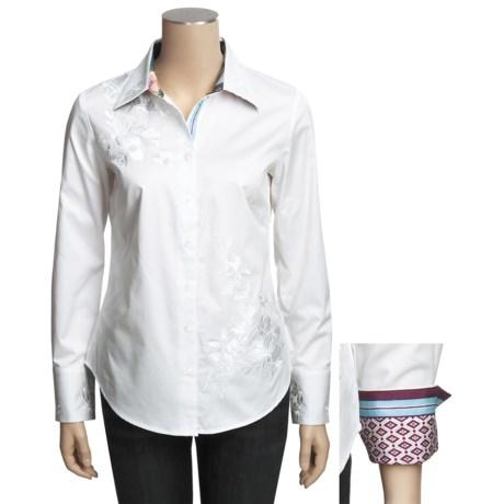 Robert Graham Zen Shirt - Stretch Cotton, Long Sleeve (For Women)