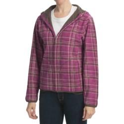 White Sierra Green Pine Jacket (For Women)