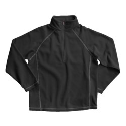 White Sierra Pinnacle Fleece Jacket - Zip Neck (For Boys and Girls)