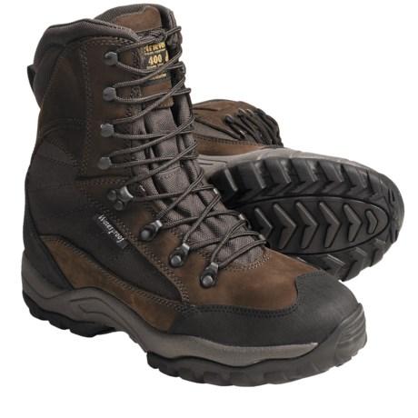 """Golden Retriever Nubuck Boots - 8"""", Waterproof, 400g Thinsulate® (For Men)"""