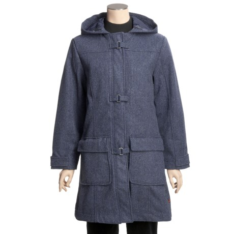 Woolrich Kensal Wool Stadium Coat - Taffeta Lined (For Women)