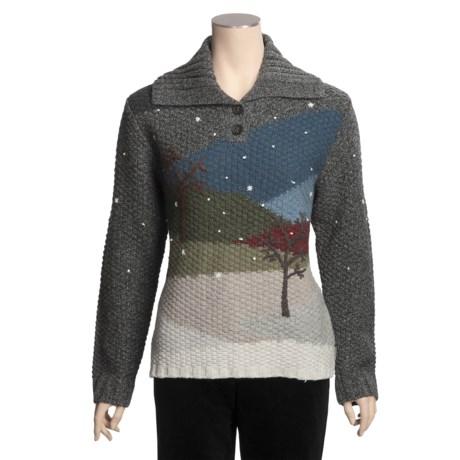 Woolrich Tavon Sweater - Textured Lambswool (For Women)