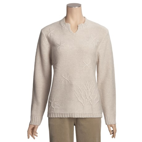 Woolrich Landscape Sweater - Lambswool (For Women)