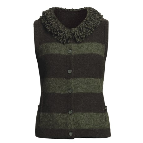 Woolrich Levona Stripe Vest - Lambswool (For Women)