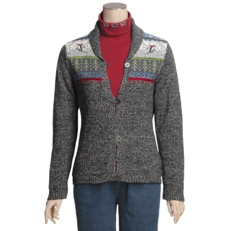 Woolrich Idella Cardigan Sweater - Cotton, Button Front (For Women)