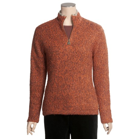 Woolrich Lindell Sweater - Zip Neck (For Women)