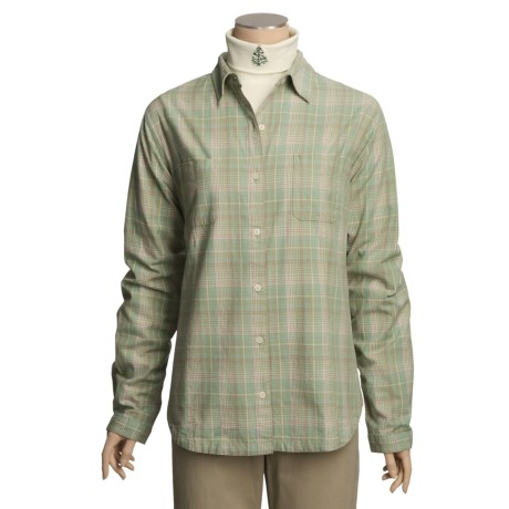 Woolrich Kimberton Flannel Shirt - Cotton, Long Sleeve (For Women)