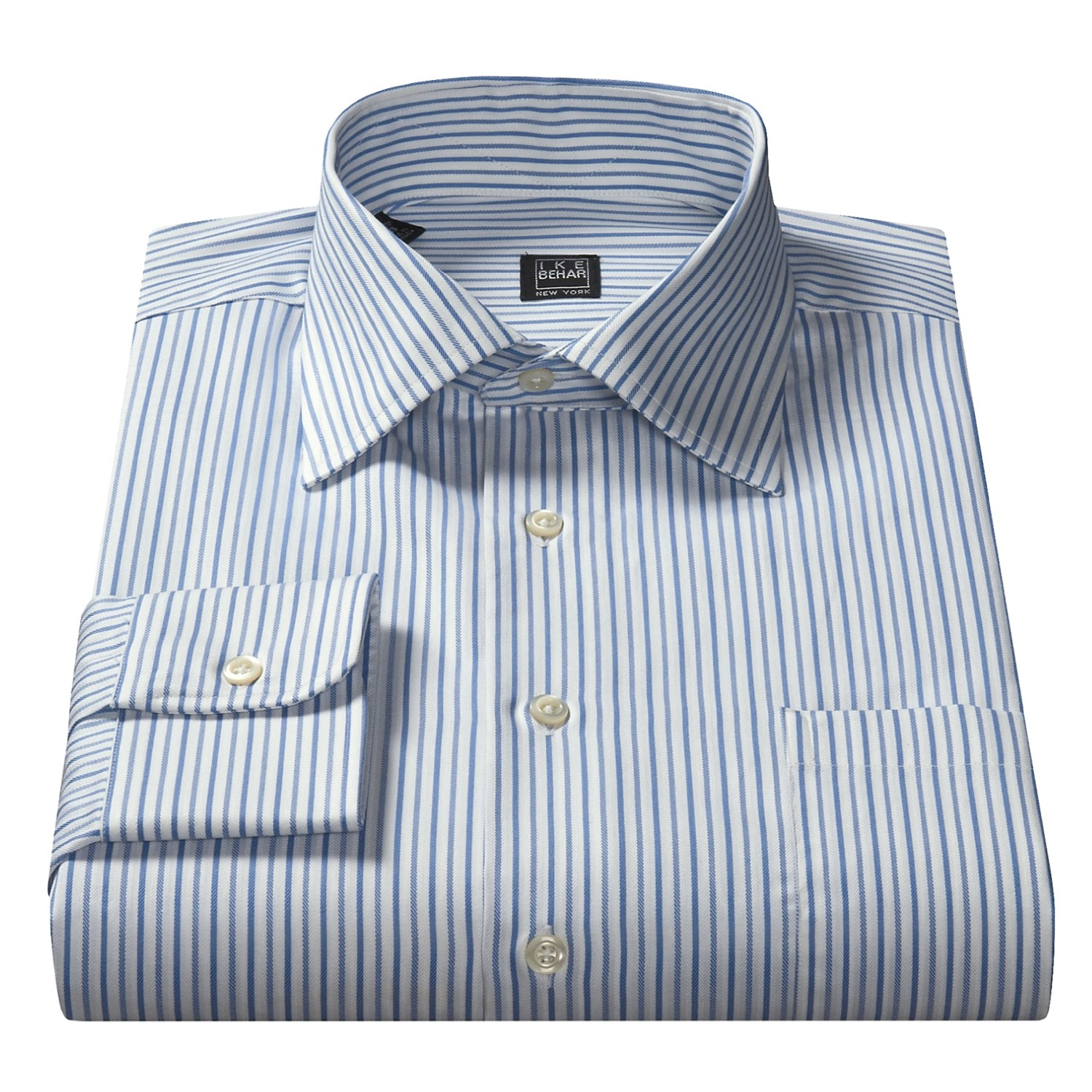 Ike behar egyptian cotton dress shirt for men 35490 for Mens egyptian cotton dress shirts