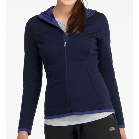 Icebreaker 320 RealFleece Igloo Hoodie Shirt - Merino Wool, Full Zip, Long Sleeve (For Women)