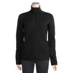 Icebreaker 320 RealFleece Igloo Shirt - Merino Wool, Full Zip, Long Sleeve (For Women)