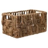 "UMA Small Rectangle Wicker Basket - 13"""