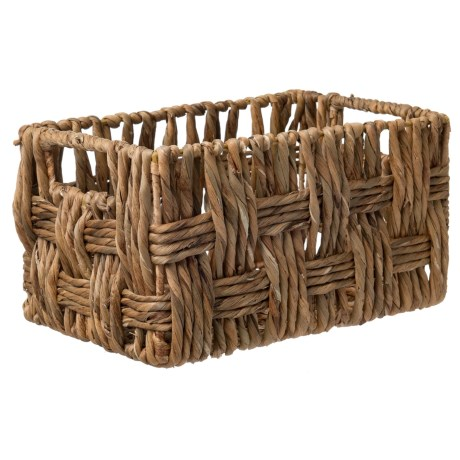 UMA Small Rectangle Wicker Basket - 13""