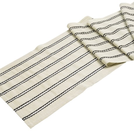 Now Designs Kala Striped Table Runner - 13x72""