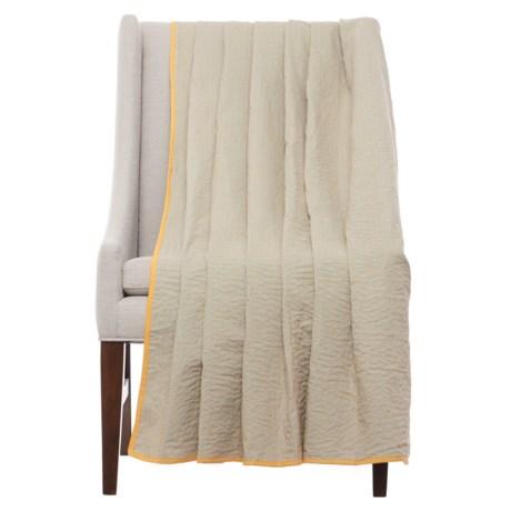 """Stitch & Shuttle Kantha Throw Blanket - 54x84"""""""