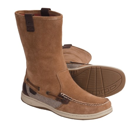 Sperry Top-Sider Sandfish Boots - Suede, Moc Toe (For Women)
