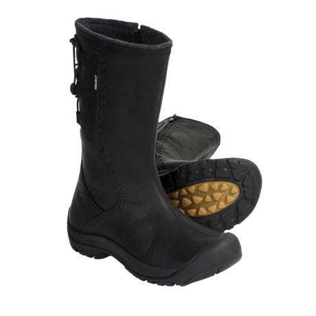 Keen Winthrop Leather Boots - Waterproof, Wool Lined (For Women)