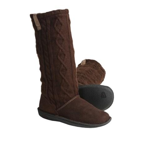 Keen Auburn Boots - Suede, Sweater-Knit Shaft (For Women)