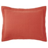Company C Willowbank Matelasse Sham - King, Cotton