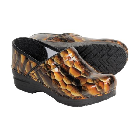 Dansko Tiger Eye Clogs - Leather (For Women)