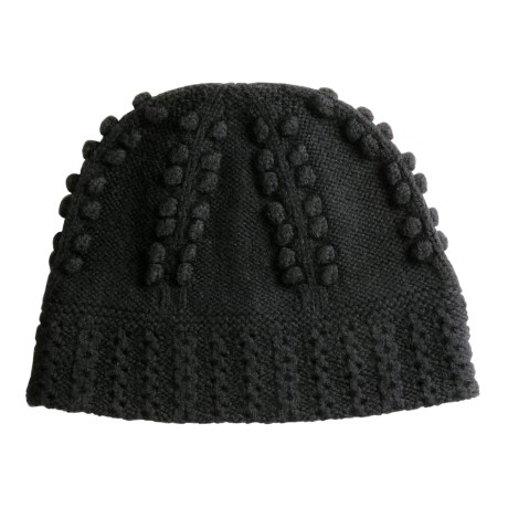 Isis Cable Beanie Hat - Wool, Microfleece Lining (For Women)