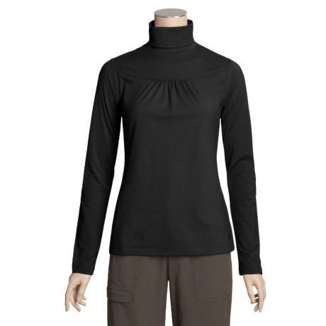 Isis Tiny Tuck Turtleneck - Stretch, Long Sleeve (For Women)