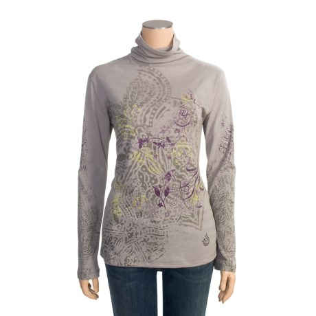 Isis Elemental Shirt - Funnel Neck, Long Sleeve (For Women)
