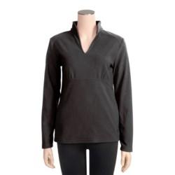 Isis Brigitte Shirt - Brushed Microfleece, Long Sleeve (For Women)