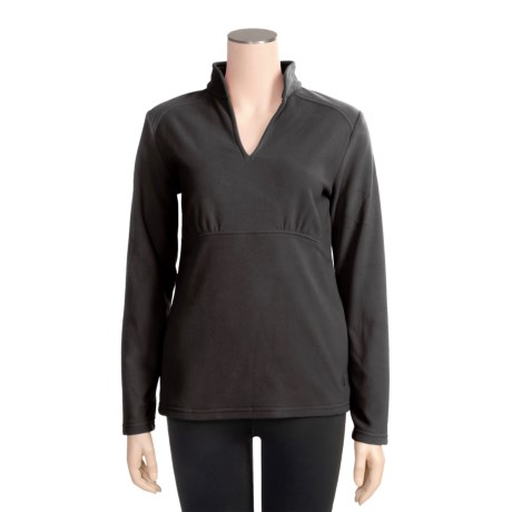 Isis Brigitte Shirt - Brushed Microfleece, Long Sleeve (For Women)