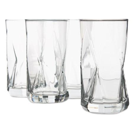 Bormioli Rocco Cassiopea Cooler Glasses - Set of 4, 16 oz.