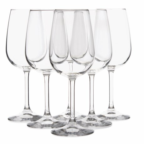 Bormioli Rocco Riserva Bordeaux Wine Glasses - Set of 6, 18.5 oz.