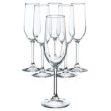 Bormioli Rocco Riserva Champagne Glasses - 7 oz., Set of 6