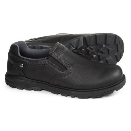 Merrell Brevard Moc Shoes - Leather, Slip-Ons (For Men)