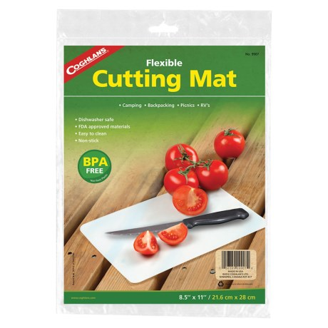 "Coghlan's Flexible Cutting Mat - 8.5x11"", BPA-Free"