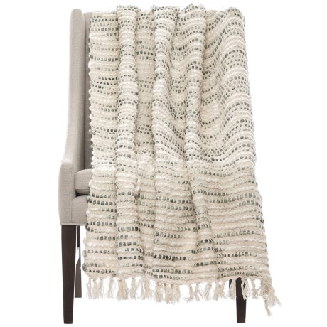 """Loloi Abby Throw Blanket - 50x60"""""""
