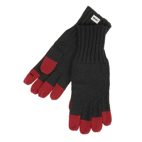 Carolina Amato Hold It Gloves - Contrast Fingertips (For Women)