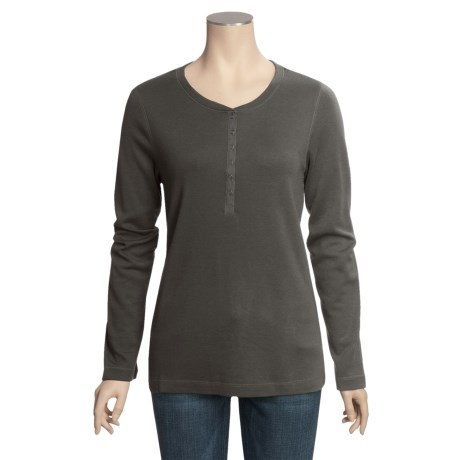 Royal Robbins Chill Out Snap Henley Shirt - Long Sleeve (For Women)