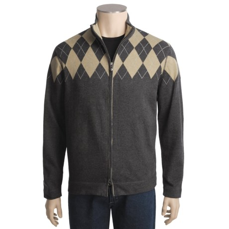 Nat Nast Clubhouse High Roller Sweater - Cotton, Full Zip (For Men)