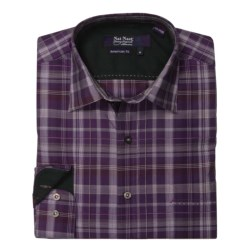 Nat Nast Perfect Plaid Sport Shirt - Cotton, Long Sleeve (For Men)