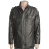Tibor Leather Lambskin Jacket - Hip Length (For Men)