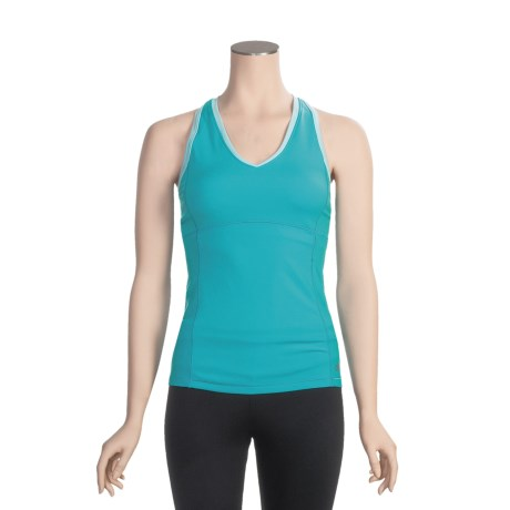 Alo High-Performance Tank Top - Built-in Bra, Racerback (For Women)