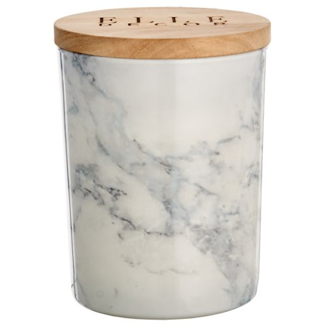 Elle Décor Black Currant Marbled Jar Candle - 16.6 oz.