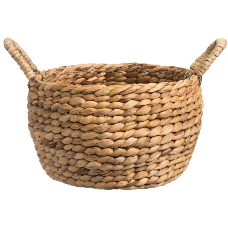 "Jay Imports Water Hyacinth Storage Basket - 11"" Round"