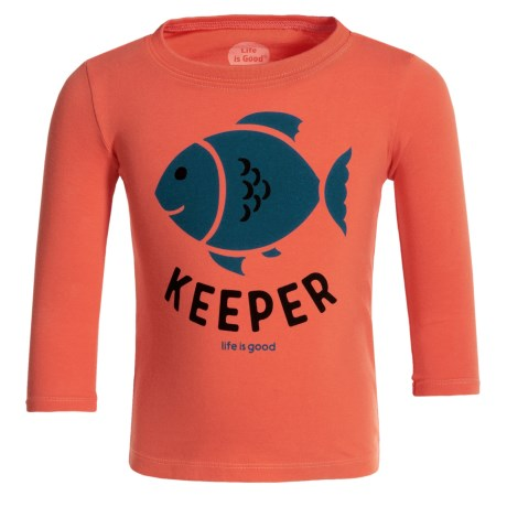 Life is good® Keeper Elemental T-Shirt - Long Sleeve (For Toddlers)