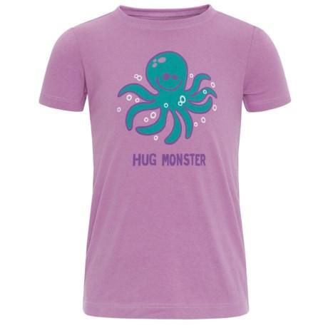 Life is good® Hug Monster Crusher T-Shirt - Short Sleeve (For Toddlers)