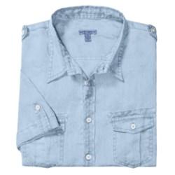 Martin Gordon Pigment Garment-Dyed Shirt - Short Sleeve (For Men)